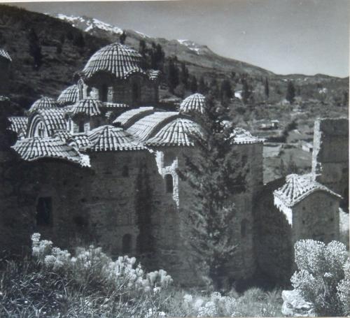 G klostret i Mistra kr