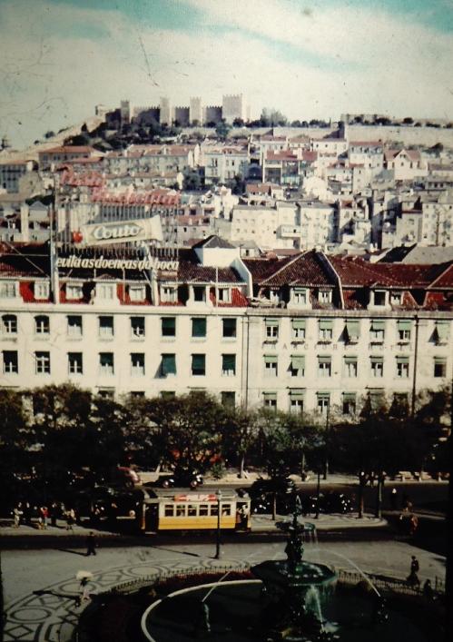 Lissabon med borgen kr