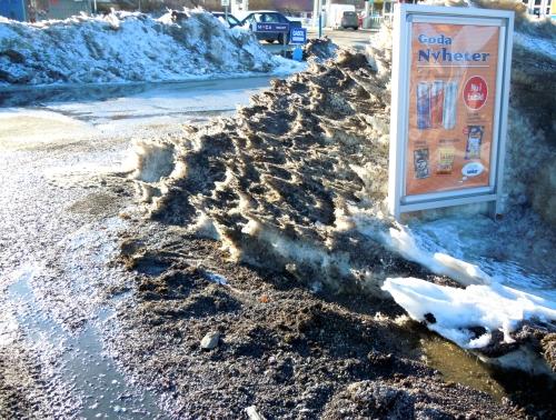 Snösmältning b kr