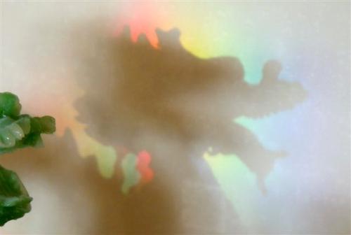 reflexer från Hilmas ljuskrona