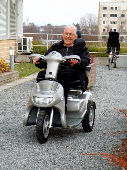 Lasse och trehjulngen