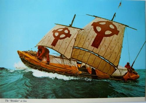Irland Brendans båt kr