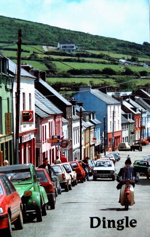 Irland Dingle hhuvudgatan kr