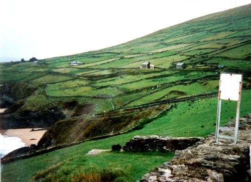 Irland inrutat land kr