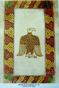 Book of Durrow  eagle kr