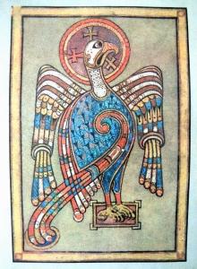 Book of Kells eagle kr