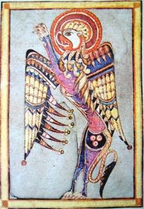 Book of Kells lion kr