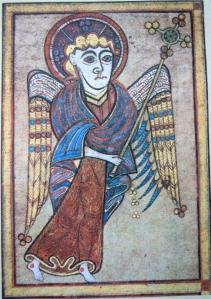 Book of Kells man kr