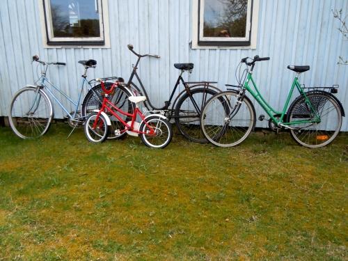 Cyklarna utsläppta kr