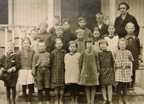 1928 skolbild
