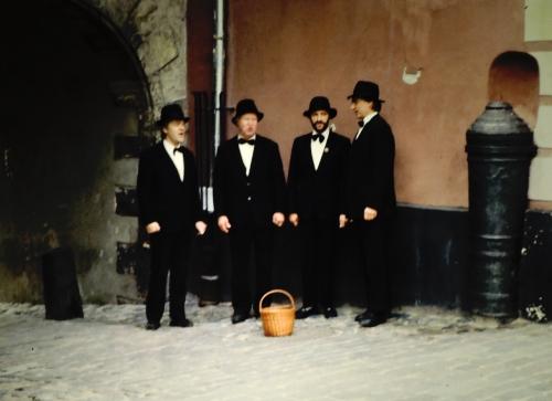 Sångare i Riga kr