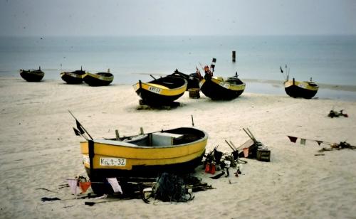 Fiskebåtar Polen kr