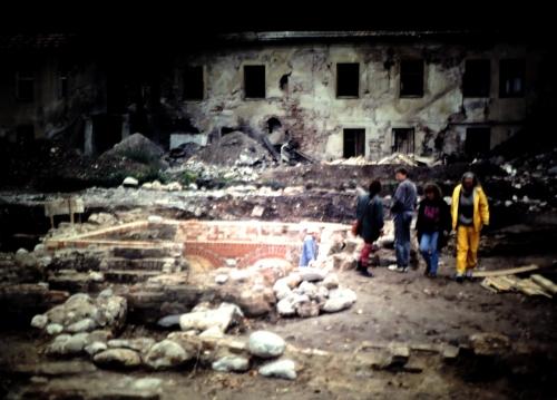 Grävning i Kaunas kr
