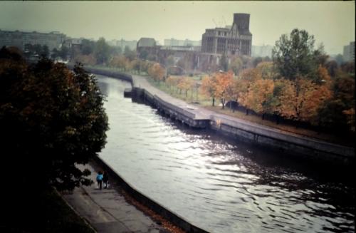 Kaliningrad floden kr