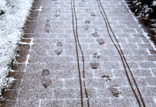 Spår i snön kr