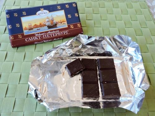 Rysk choklad kr