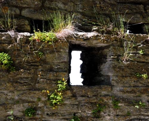 Gotland gluggen i muren