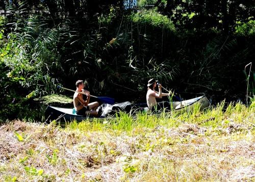 Väsbyån kanotister