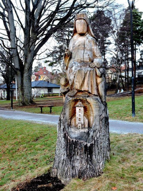 S:ta Birgitta - Fresta - lär vara född där