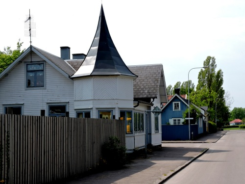 Hus i Borgholm